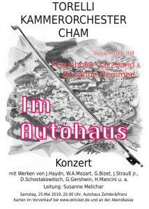 "Konzertplakat ""Im Autohaus"""